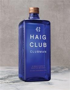 alcohol: Haig Club Clubman 750Ml!