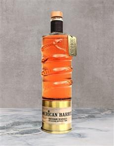 alcohol: American Barrels Bourbon 750Ml!