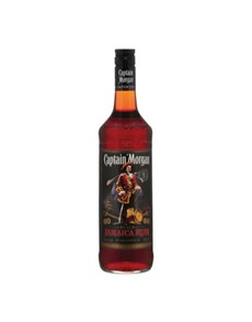 alcohol: CAPTAIN MORGAN BL.LABEL 750ML !