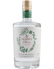 alcohol: CEDERS CLASSIC NON ALC GIN 500ML !