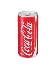 alcohol: COKE CAN 200ML !