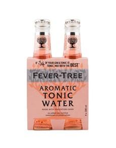 alcohol: FEVER TREE AROMATIC TONIC 200ML !