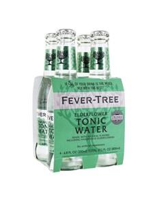 alcohol: FEVER TREE TONIC ELDERFLOWER 200ML !
