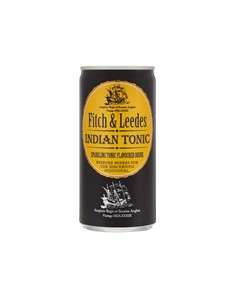 alcohol: FITCH & LEEDES INDIAN TONIC CAN 200ML !