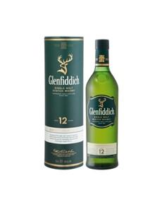 alcohol: GLENFIDDICH 12YR 750ML !