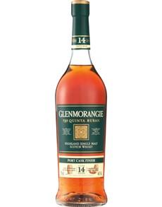 alcohol: GLENMORANGIE QUINTA RUBAN 14YR EMR 750ML !