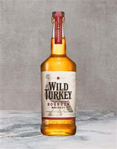 alcohol: Wild Turkey Bourbon 750Ml!