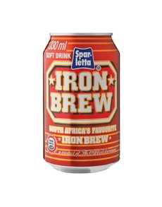 alcohol: IRON BREW CAN 300ML !