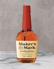 alcohol: Makers Mark Bourbon 750Ml!