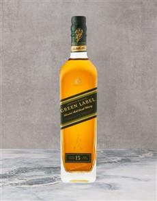 alcohol: Johnnie Walker Green 750Ml!
