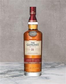 alcohol: Glenlivet 21Yr Archive 750Ml!