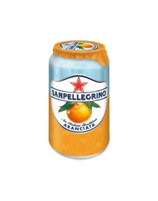 alcohol: SAN PELLEGRINO ARANCIATA 330ML !