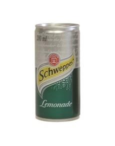 alcohol: SCHWEPPES LEMONADE CAN 200ML !