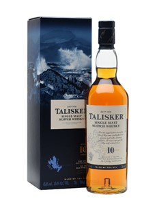 alcohol: TALISKER 10YR WHISKY 750ML !