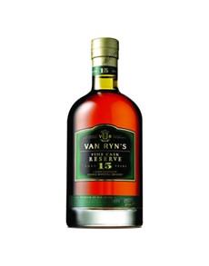 alcohol: VAN RYNS 15YR 750ML FINE CASK RES!