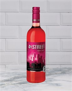 alcohol: 4TH STREET NAT.SWEET ROSE 750ML X1!