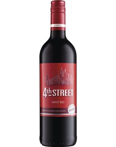 alcohol: 4TH STREET NAT. SWEET RED 750ML X1!