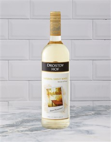 alcohol: DROSTDYHOF NAT.SWEET WHITE 750ML X1!
