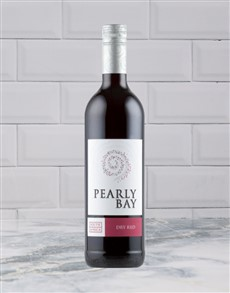 alcohol: PEARLY BAY DRY RED 750ML X1!