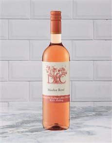 alcohol: DC MERLOT DRY ROSE 750ML X1!