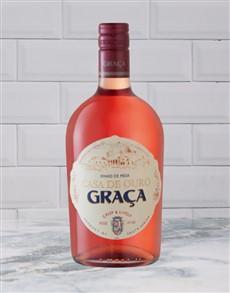 alcohol: GRACA ROSE 750ML X1!