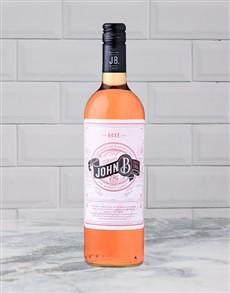 alcohol: RIETVALLEI JOHN B.ROSE 750ML X1!