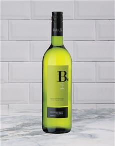alcohol: RIETVALLEI JOHN B.SAUVBLANC 750ML X1!