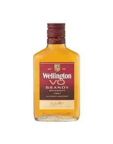 alcohol: WELLINGTON VO BRANDY 200ML X1!