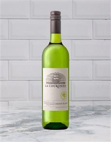 alcohol: LA COURONE UPPER DECK CHENIN 750ML X1!