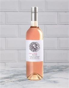 alcohol: WATERKLOOF FALSE BAY ROSE 750ML X1!