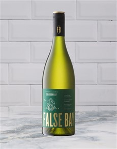 alcohol: WATERKLOOF FALSE BAY CHARDONNAY 750ML X1!