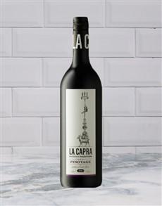 alcohol: FAIRVIEW LA CAPRA PINOTAGE 750ML X1!