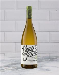 alcohol: BRUCE JACK SAUVIGNON BLANC 750ML X1!