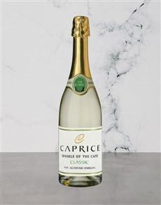 alcohol: CAPRICE NON ALC CLASSIC 750ML X1!
