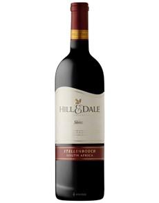 alcohol: HILL & DALE SHIRAZ X1!