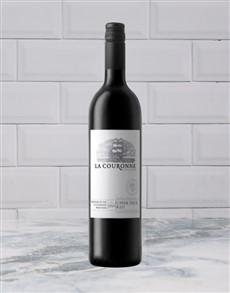 alcohol: LA COURONNE UPPER DECK RED 750ML X1!