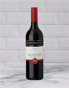 alcohol: LANDSKROON PAUL HUGO RED 750ML X1!
