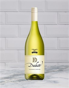 alcohol: CLOOF DUCKITT CHARDONNAY 750ML X1!