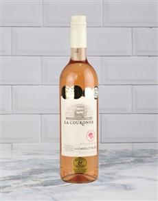 alcohol: LA COURONNE MERLOT ROSE 750ML X1!