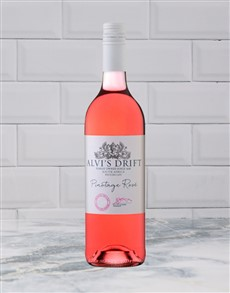 alcohol: ALVIS DRIFT PINOTAGE ROSE 750ML X1!