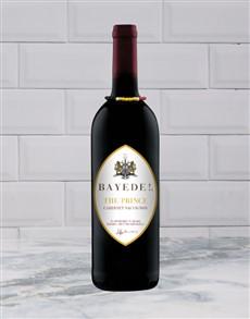 alcohol: BAYEDE PRINCE CABSAUVIGNON 750ML X1!