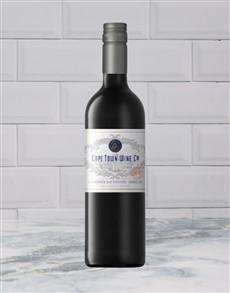 alcohol: CAPE TOWN WINE CO CABERNET MERLOT 750ML X1!