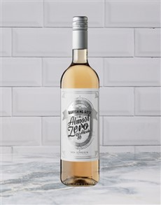 alcohol: ALMOST ZERO RAVISHING ROSE 750ML X1!