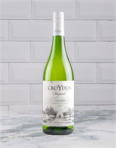alcohol: CROYDON TITLE DEED CHENIN BLANC 750ML X1!