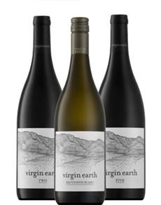 alcohol: VIRGIN EARTH PINOTAGE 750ML X1!