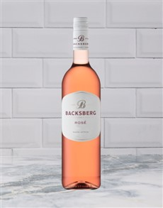 alcohol: BACKSBERG PINOTAGE ROSE 750ML X1!