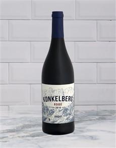 alcohol: LONGRIDGE KONKELBERG ROUGE 750ML X1!