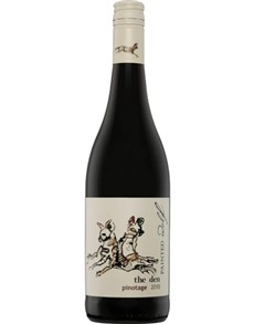 alcohol: PAINTED WOLF THE DEN PINOTAGE 750ML X1!