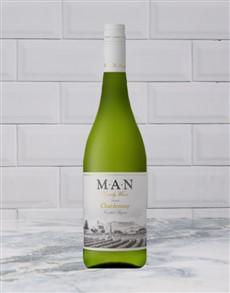 alcohol: MAN VINTNERS CHARDONNAY 750ML X1!