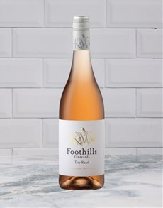 alcohol: FOOTHILLS ROSE 750ML X1!